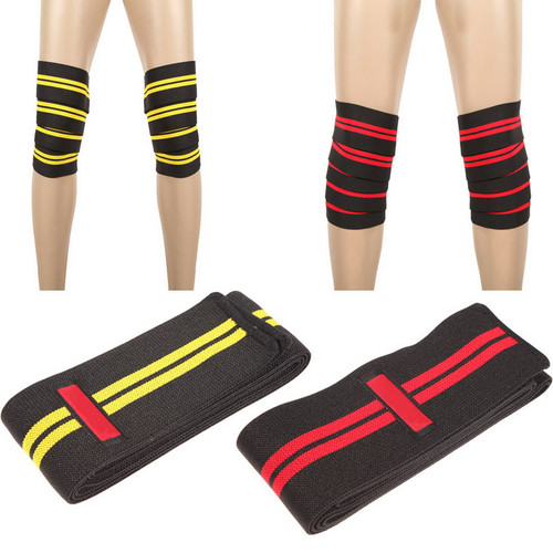 Aolikes Knee Ankle Support Power Lifter Weight Lifting Knee Wraps Gym Training Fist Straps Sports Bandage Elbow Wrist Supports