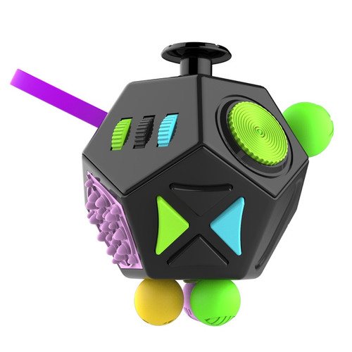 Antistress Cube Magic Cube Squeeze Fun Desktop Toys Office Hand Cubic Stress Cube Reliever Autism Toys relax Boredom Finger Tips