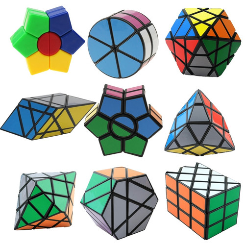 Strange-Sharp Magic Speed Cube Educational Learning Toys For Children Kids Gift Puzzle Speed Cube Challenge Magico Cubo Toy
