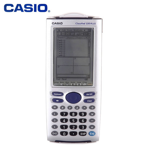 Casio ClassPad 330 PLUS Graphic Programming Stroke 3D Science CASIO Calculator International Exam SAT AP Exam