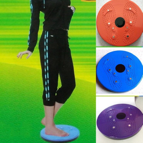 1Pc Body Twister Plate Twist Board Magnet Plate Twist Disk Fat Burning Slimming Legs Fitness Small Home Fitness Slimming Product