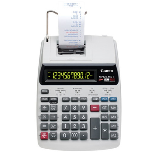 1 Pcs Canon MP-120MG Print Calculator Print Adder Business Office Computer