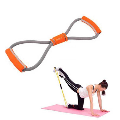 body slimming Products massager belt Yoga Resistance Tubes slimming Resistance Bands Fitness Exercise Tube Rope Set 8 Shape