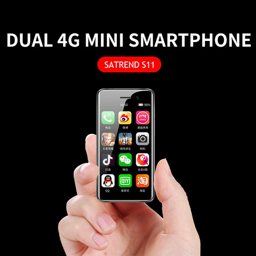 2019 New 4G Mini Smartphone S11 Android 7.1 CellPhone Dual SIM 3.2Inch Mobile Phone MTK6739 WiFi GPS Bluetooth