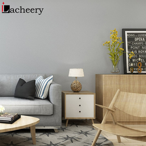 3M/5M Matt Solid Color Wallpaper Roll Furniture Cabinet Renovation Stickers Living Room Bedroom Vinyl Self Adhesive Wall Decor