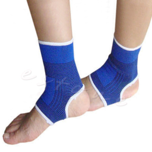 Fitness Products 2Pcs Ankle Support Elastic Band Brace Gym Sports Promotion Protect Therapy Pain