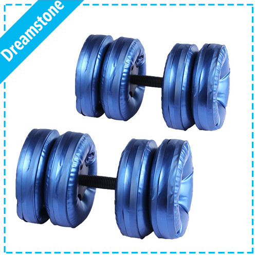 Free Shipping  2016 New creation fitness products water filled dumbbells for sale RoHS 8 bags/set gym equipment for weight loss