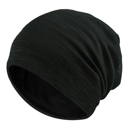 Cotton Cancer Chemo Hat Unisex Men Head Beanie Striped Hip hop Cap for Women Ski Caps Fashion Rasta Caps Lady Spring Autumn