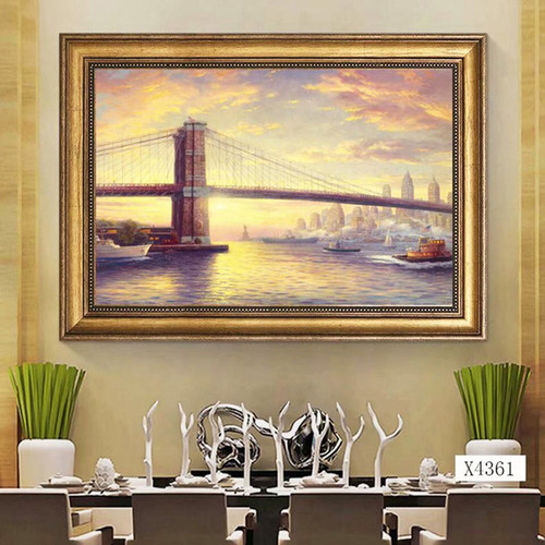 ARTNESSTOR Home Decor Oil Painting On Canvas Prints Wall ART Pictures Wall Decor Paint On Canvas Wall Art Painting For Home Dec