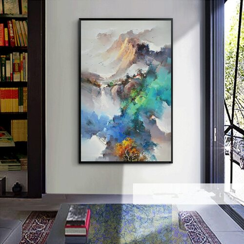 Impressionism Landscape Paintings Modern Art Deco Oil Painting on Canvas Wall Art Picture Home Decor Living Room