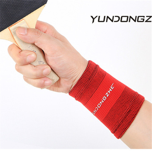 Knitted Fitness Breathable Wristband Elastic Wrist Support Brace Wristband Unisex Gym Wrestle Professional Sports Protection