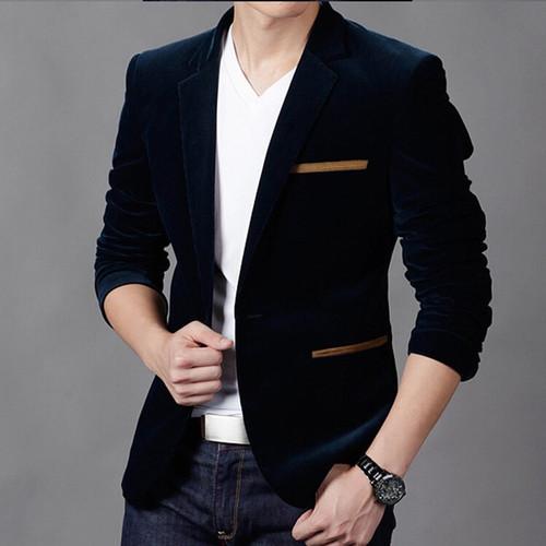 2019 men's Jacket brand clothing casual coat blazer men Slim fit Jacket men corduroy Wedding dress plus size Single Button suit