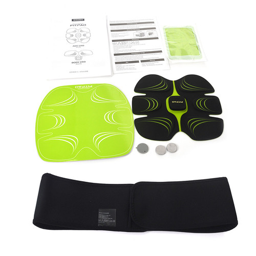 EMS Electric Weight Loss Slimming  Exercise Training ABS Fit Training Exercise Abdominal Muscle Trainer Fitness Accessories 30