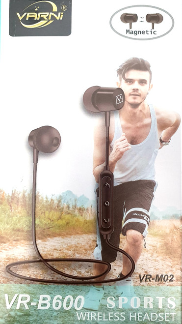 Varni VR-B600 Sports Wireless Headset Magnetic High Quality headphones