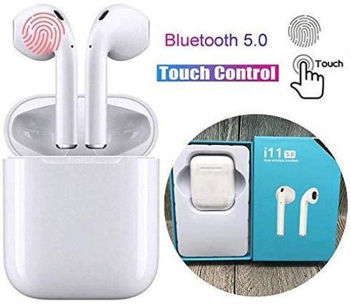 TWS i11 5.0 True Wireless Earphone with Portable Charging Case for Android/iOS Devices with Sensor