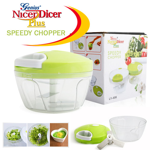 Amazing Genius Nicer Dicer Plus Vegetable & Fruit Chopper Speedy Chopper LY-606