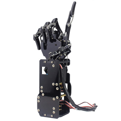 Industrial Robot Arm Bionic Robot Hands Large Torque Servo Fingers Self-movement Mechanical Hand with Control Panel