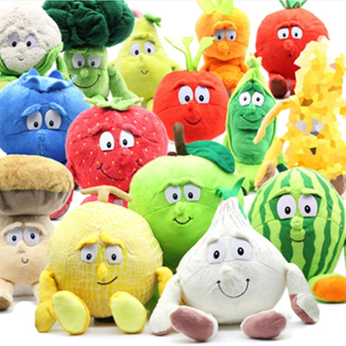 1 Pcs Fruit Vegetables Soft Plush Toy Stuffed Doll Cute Gift for Children Kids AN88