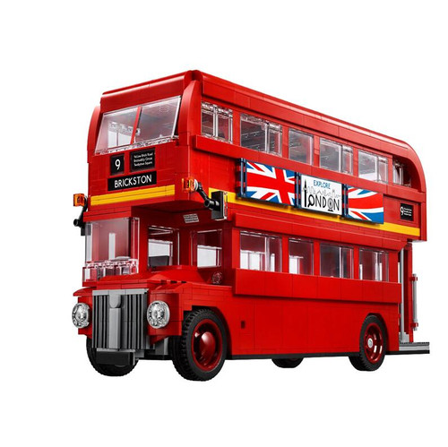 21045 London Bus 23006 23003 23018 Model Building Kit Blocks Bricks Gift Toys for Children legoing Technic McLaren P1 Racing Car