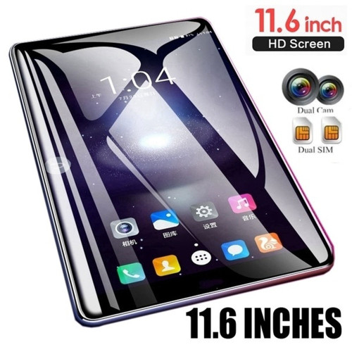 2019 Tablet 11.6 Inch Ten Core 4G Network WiFi Tablet PC Android 7.1 Arge 2560*1600 IPS Screen Dual SIM Dual Camera Rear 13.0 MP