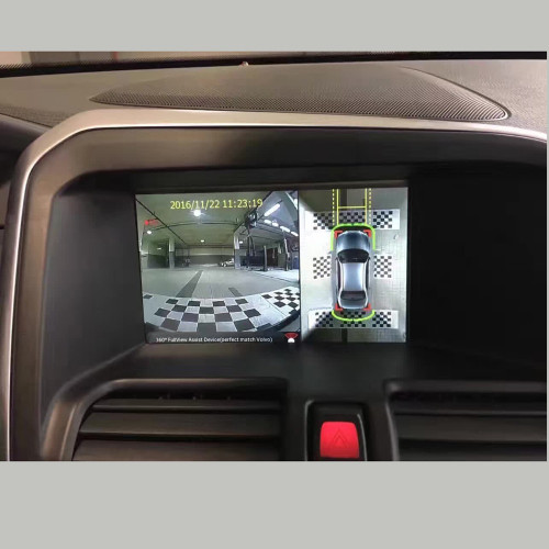 InCar High Definition 360-degree Bird's eye View Panoramic Car Camera For VOLVO Parking 4 way Driving Recorder Built-in Decoder
