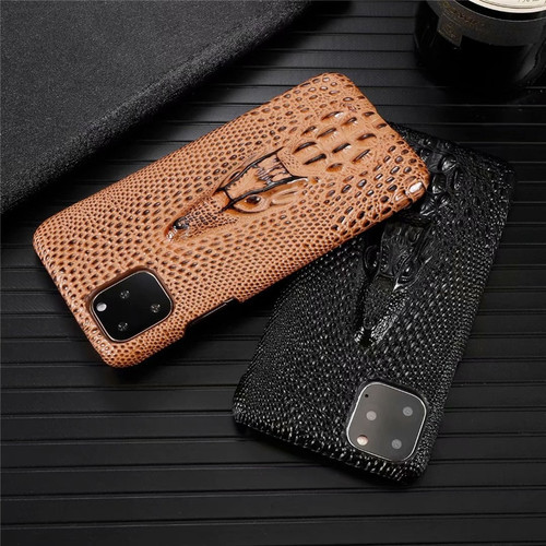 Luxury Genuine Leather Phone Case for Apple iPhone 11 Pro Max Stereoscopic 3D Cow Hide Cover Fashion Plain