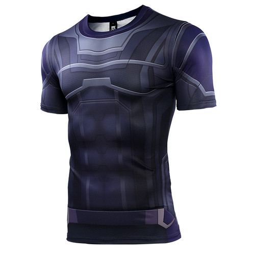 Avengers Hulk New 3D Compression Shirt Printed T shirts Men Compression Shirt Cosplay Quick-drying clothes For Gyms T Shirts