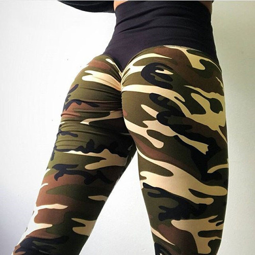 SVOKOR Leisure Stitching Camouflage Leggings Women High Waist 2019 Women's Clothing Pants Breathable Fitness Leggins Mujer