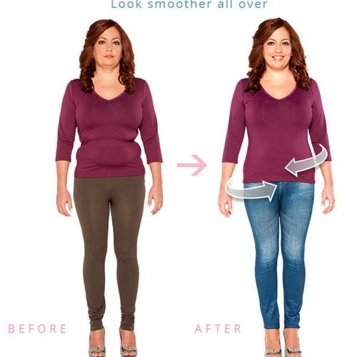 Autumn winter Women large size imitation denim Leggings High Elastic skinny printed jeans jeggings slim Pencil Pan