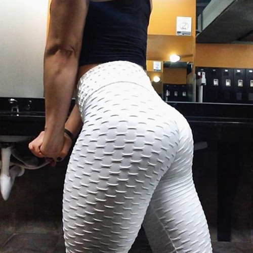 High Waist Fitness Leggings Women Workout Push Up Legging Fashion Solid Color Bodybuilding Jeggings Women Pants 1