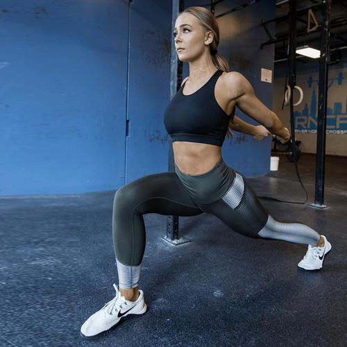 SVOKOR Pocket High Waist Leggings Women Fitness Workout Activewear Printing Trouser Fashion Patchwork Push Up Female Leggings