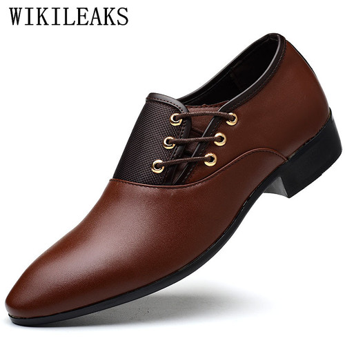 designer men shoes luxury brand oxford shoes for men pointed toe dress shoes leather wedding shoes man italy sapato masculino