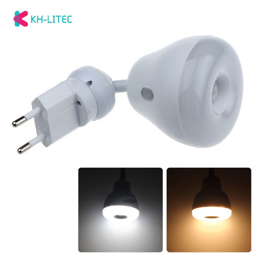 EU Plug AC 110V 220V 5W PIR Infrared Sensor Motion Detector LED Light Bulb Lamp Warm Cool White Dropshipping