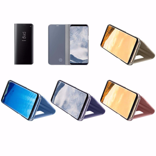 100% Original Samsung Mirror Clear View Smart Cover Phone Case For Samsung Galaxy S8 Plus s8+ / S8 Ef-zg955