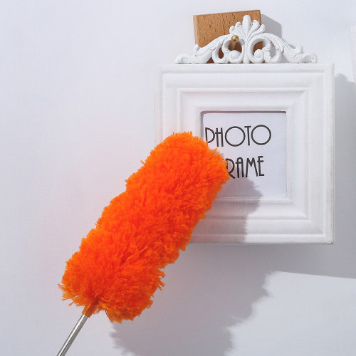 New Adjustable Stretch Extend Microfiber Feather Duster Household Dusting Brush Cleaning Tools Brush Dust Cleaner Books Cleaning