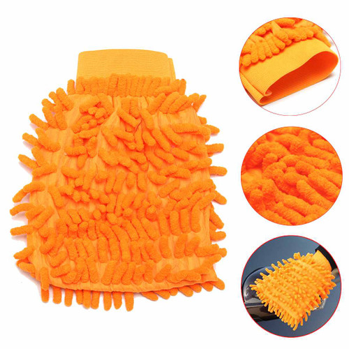 Super Mitt Microfiber Car Window Washing Home Cleaning Cloth Duster Towel Gloves Auto Care Washing Cloth