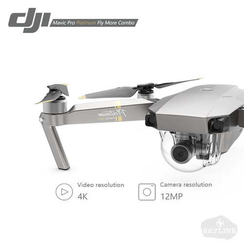 DJI Mavic Pro Platinum Fly More Combo with 4K HD Video Recording 30mins Flight time 7km Remote Control dji mavic pro drone