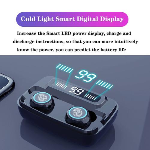 3500mAh LED Bluetooth Wireless Earphones Headphones Earbuds TWS Touch Control Sport Headset Noise Cancel Earphone Headphone