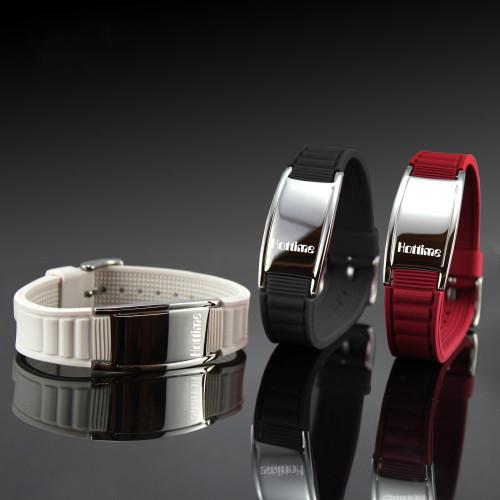 Hottime 2000 Ions Titanium Germanium Wristband Bracelet Balance Energy Balance Human Body
