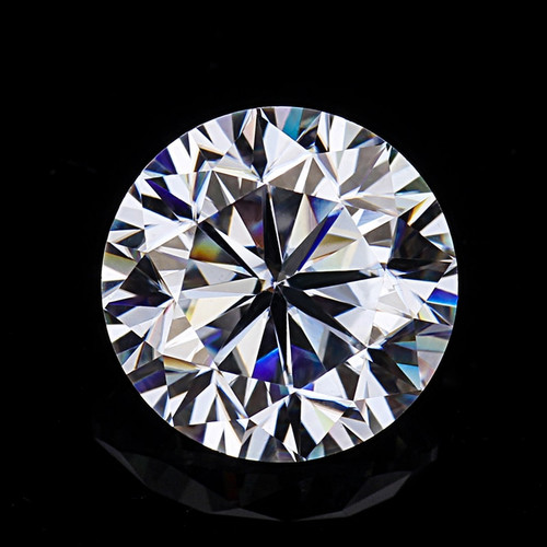 Round Brilliant Cut 10ct 15mm EF color Moissanites Loose Stone Excellent Quality Test Postive