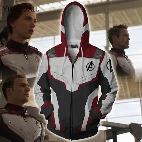 Avengers Endgame Marvel NEW 3D Print Mens Hoodies Hip Hop Hoodie Sweatshirt Hoody Streetwear Poleron Avenger End Game