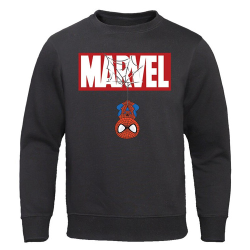 The Avengers Sweatshirt 2019 Spring Autumn New Tracksuit MARVEL Spiderman Print Hoodies Sweatshirts Men Casual Male Streetwear