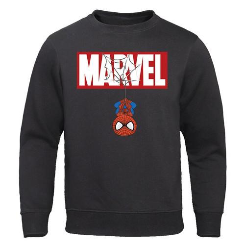 The Avengers Sweatshirt 2019 Spring Autumn New Tracksuit MARVEL Spiderman Print Hoodies Sweatshirts Men Casual Male Streetwear