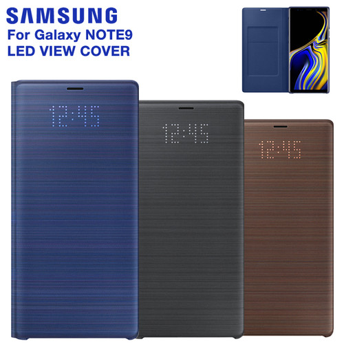 SAMSUNG Original LED View Cover Smart Cover Phone Case for Samsung Galaxy Note 9 Note9 SM-N9600 N9600 N960F Original Phone Cover