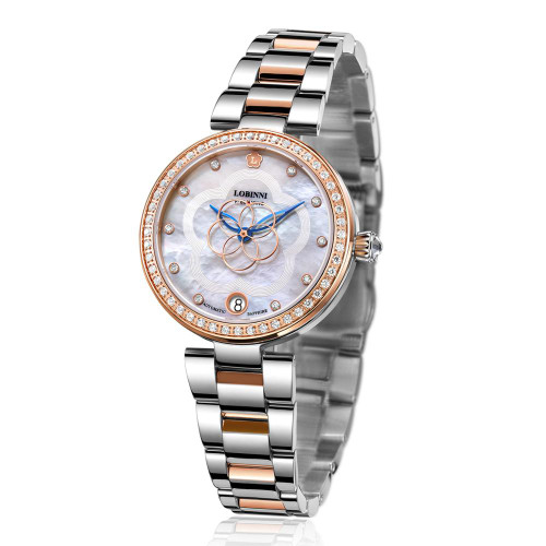 Switzerland Luxury Brand Fashion Ladies Mechanical Automatic Self-Wind Sapphire Watch Women elegeant designer crystal watches