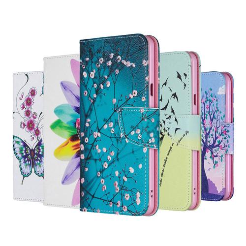 2019 Painted Leather Flip Case For Xiaomi Redmi 7 7A 6 6A 5 Plus 4X note 8 K20 Pro 8A 8T 10 PRO MI CC9 PRO Wallet Cover Case 1 2