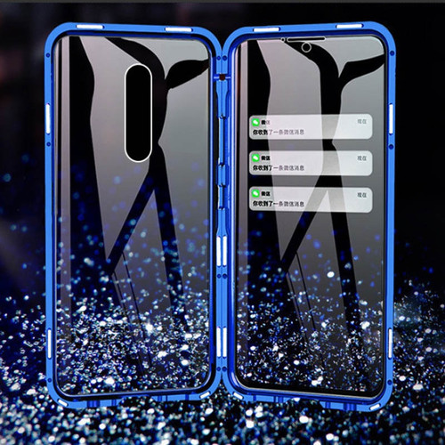 Front And Back Glass Metal Magnetic Case For Redmi Note 8 7 K20 Pro 8A 8 For Xiaomi 9T CC9 9 8 F1 6X Max3 Mix2s Mix3 CC9Pro
