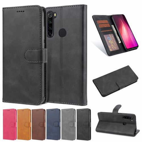 Phone Cases For Xiaomi Redmi Note 8 Pro Case Cover Redmi Note 8 Leather Magnetic Wallet Case For Redmi Note 8 T Flip Book Cover
