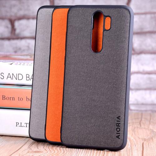 Case for xiaomi redmi note 8 pro coque Luxury textile Leather skin soft TPU hard PC phone cover for redmi note 8 case funda capa