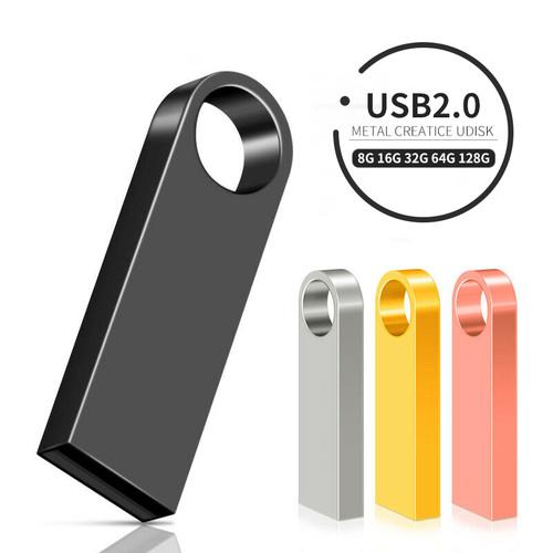 High Speed Flash Drive 128GB 64GB 32GB 16GB 8GB Pendrive USB Stick 128 64 32 16 8 GB Pen Drive USB Flash OTG Connector